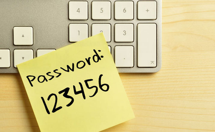 Secure your account with a strong password